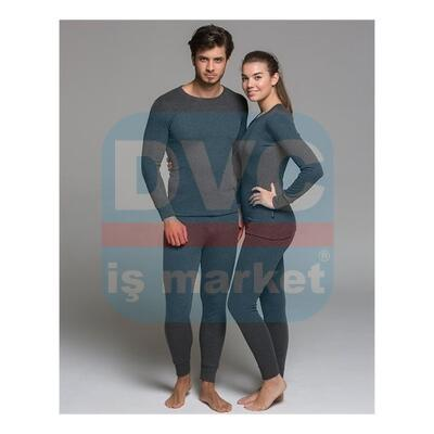 DÜZ İNTERLOK YETİŞKİN UNISEX TERMAL SET